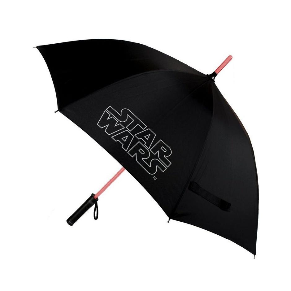 """Paraguas Star Wars """"sable de luz"""""""