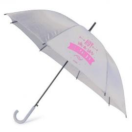 """Paraguas """"Hoy va a ser un gran día"""""""