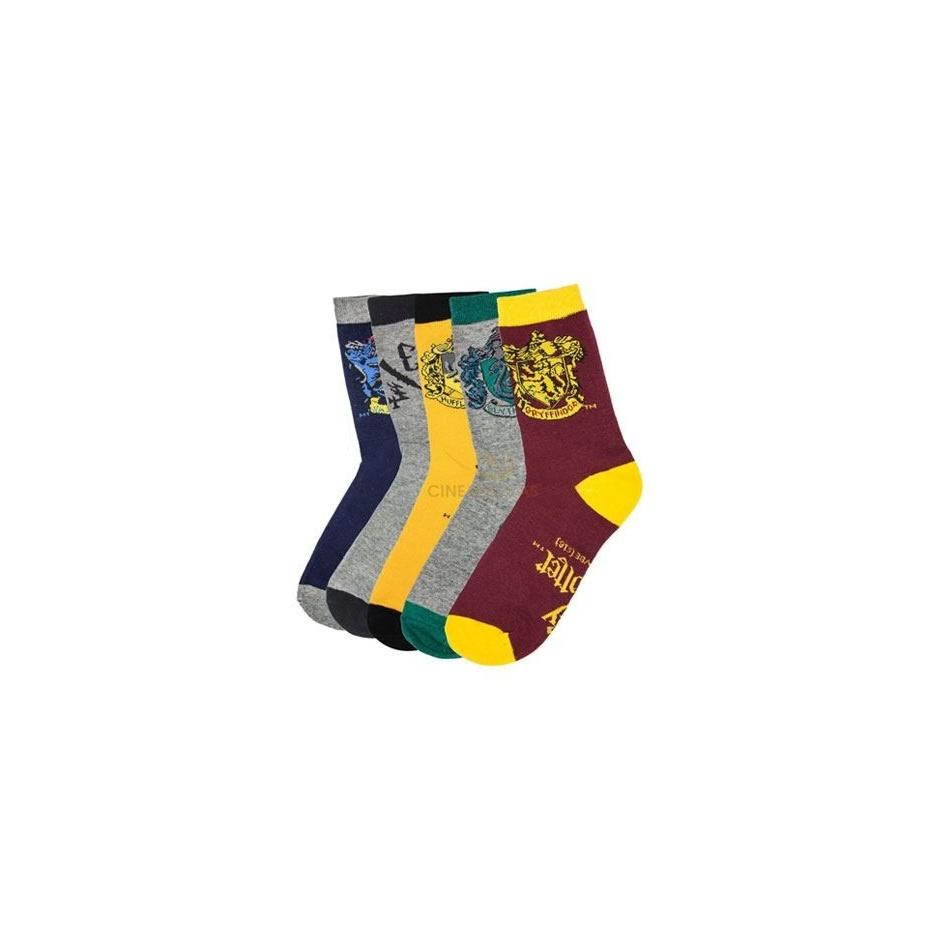 Pack de 5 calcetines Harry Potter