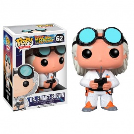 Figura POP Vinyl Regreso al futuro Doc Brown