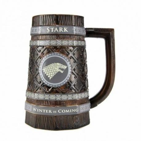 Jarra cerveza casa Stark Juego de Tronos