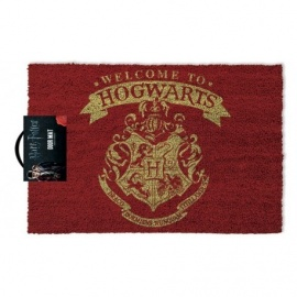 "Felpudo Harry Potter ""Welcome to Hogwarts"""