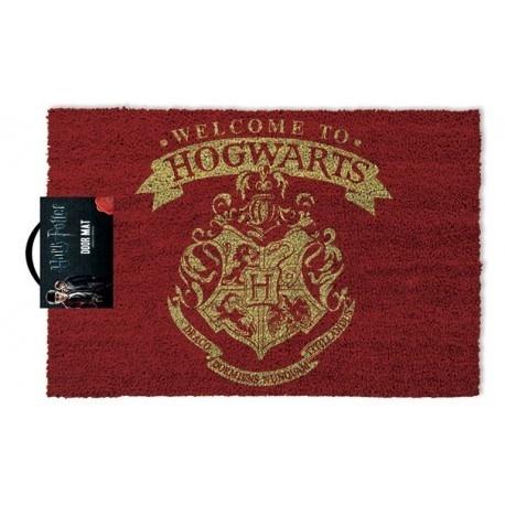 "Felpudo Harry Potter ""Welcome to Hogwarts"""