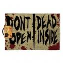 """Felpudo Walking Dead """"Don't Open Dead Inside"""""""