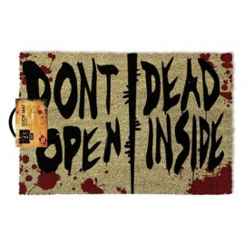 "Felpudo Walking Dead ""Don't Open Dead Inside"""