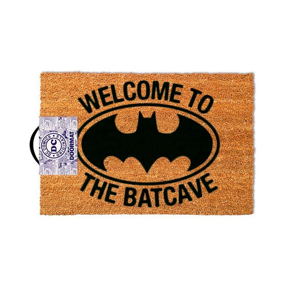 "Felpudo Batman ""Welcome to the Batcave"""