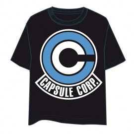 "Camiseta Dragon Ball ""Capsule Corp"""