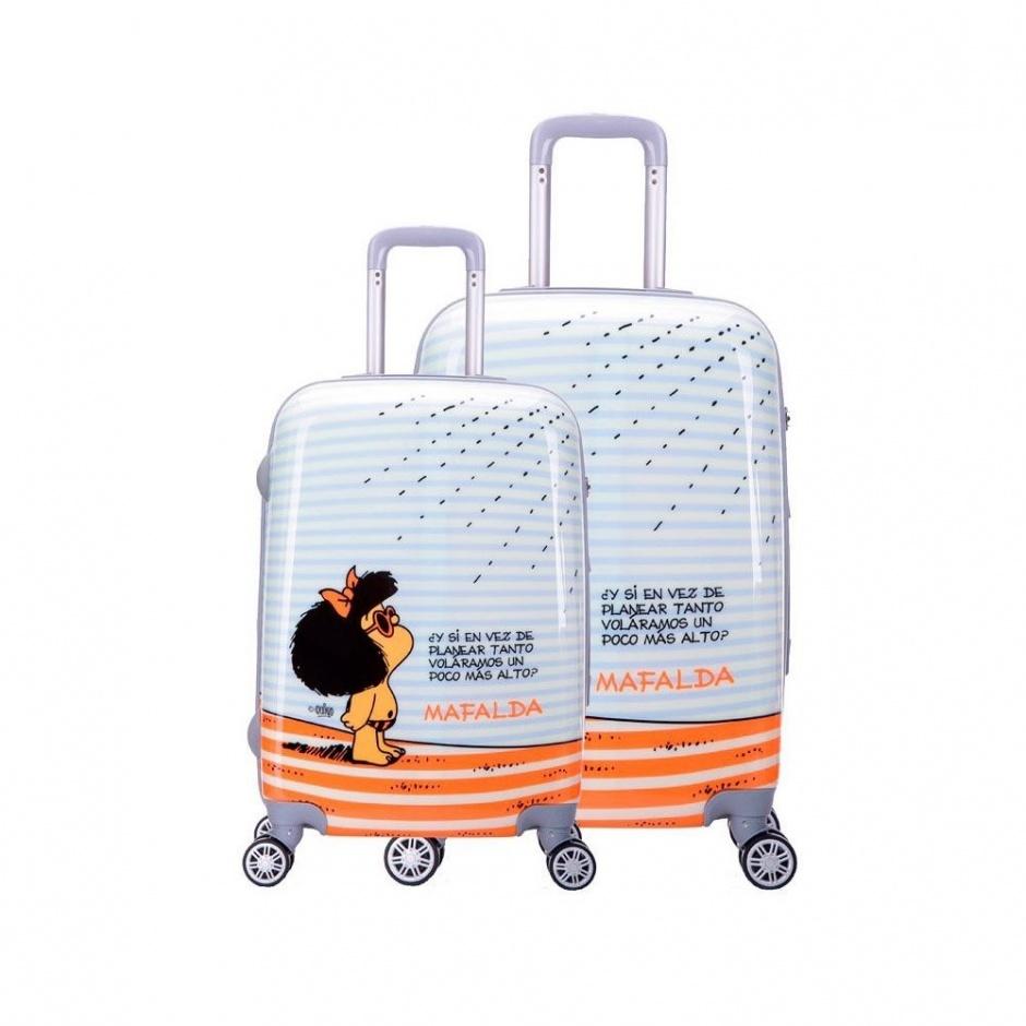 Pack 2 maletas 4R Mafalda Tarifa