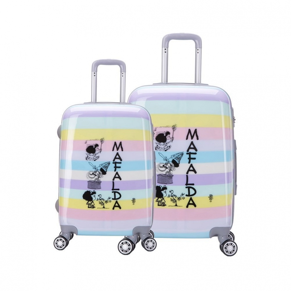 bf5a47dad envio gratis pack 2 maletas mafalda