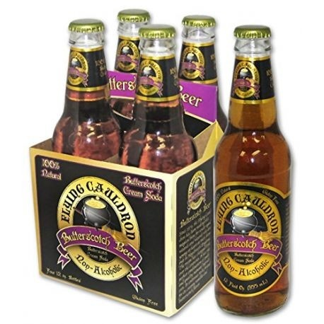 Pack 4 cervezas de mantequilla Harry Potter Flying Cauldron