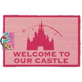 "Felpudo Disney ""Welcome to our Castle"""