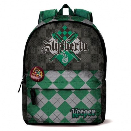 Mochila Harry Potter Quidditch Slytherin