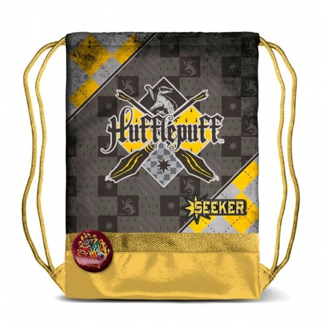 Saco Harry Potter Quidditch Hufflepuff