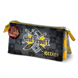 Portatodo triple Harry Potter Quidditch Hufflepuff