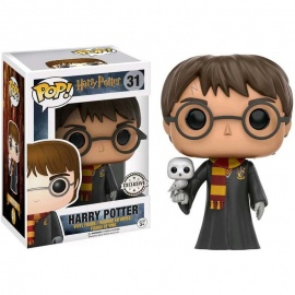 Figura Pop Harry Potter con Hedwig