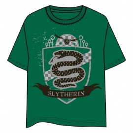 Camiseta Unisex Slytherin Harry Potter