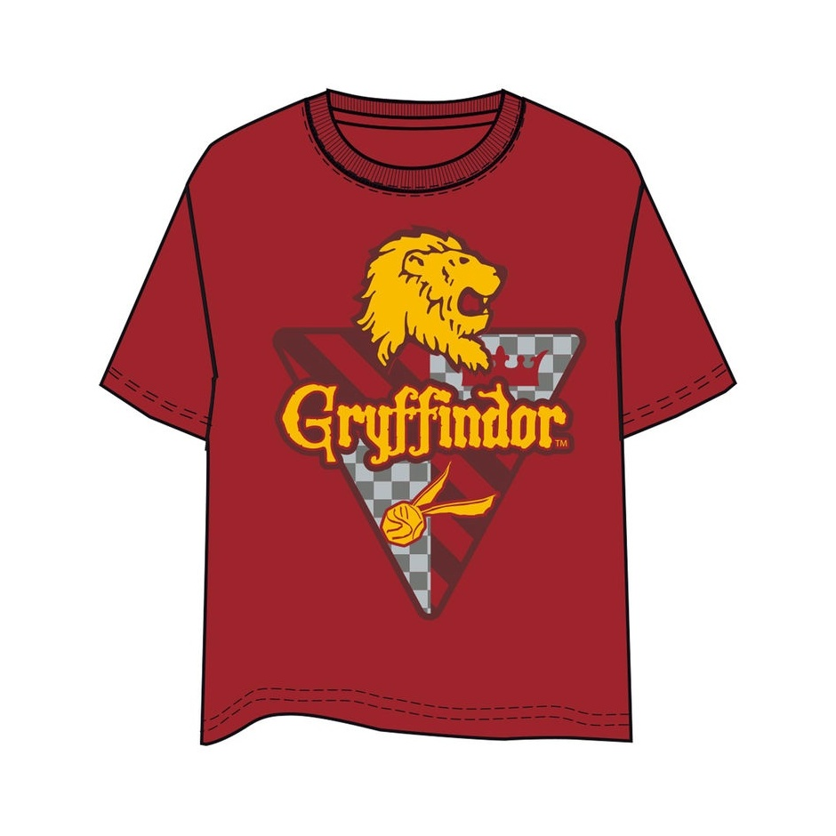 Camiseta Unisex Gryffindor Harry Potter