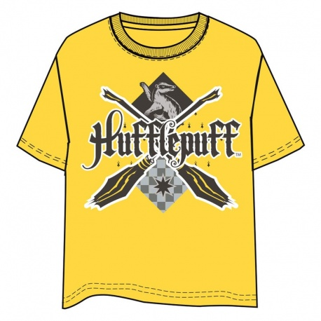 Camiseta Unisex Hufflepuff Harry Potter