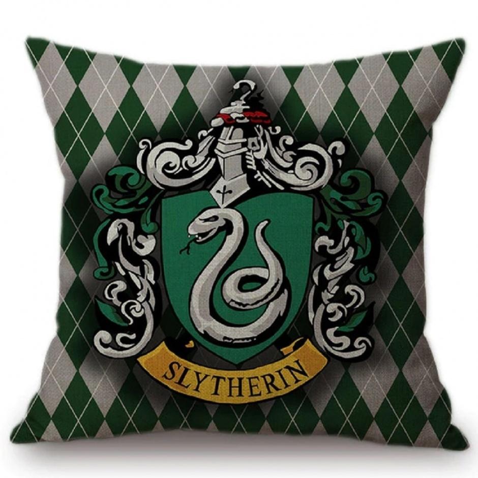 Cojín Slytherin Harry Potter