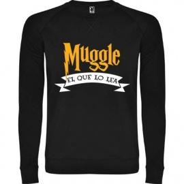 """Sudadera unisex """"Muggle"""""""