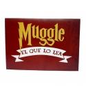 "Tarjeta felicitación Harry Potter ""Muggle"""