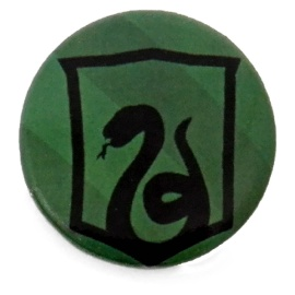 Chapa escudo Slytherin Harry Potter