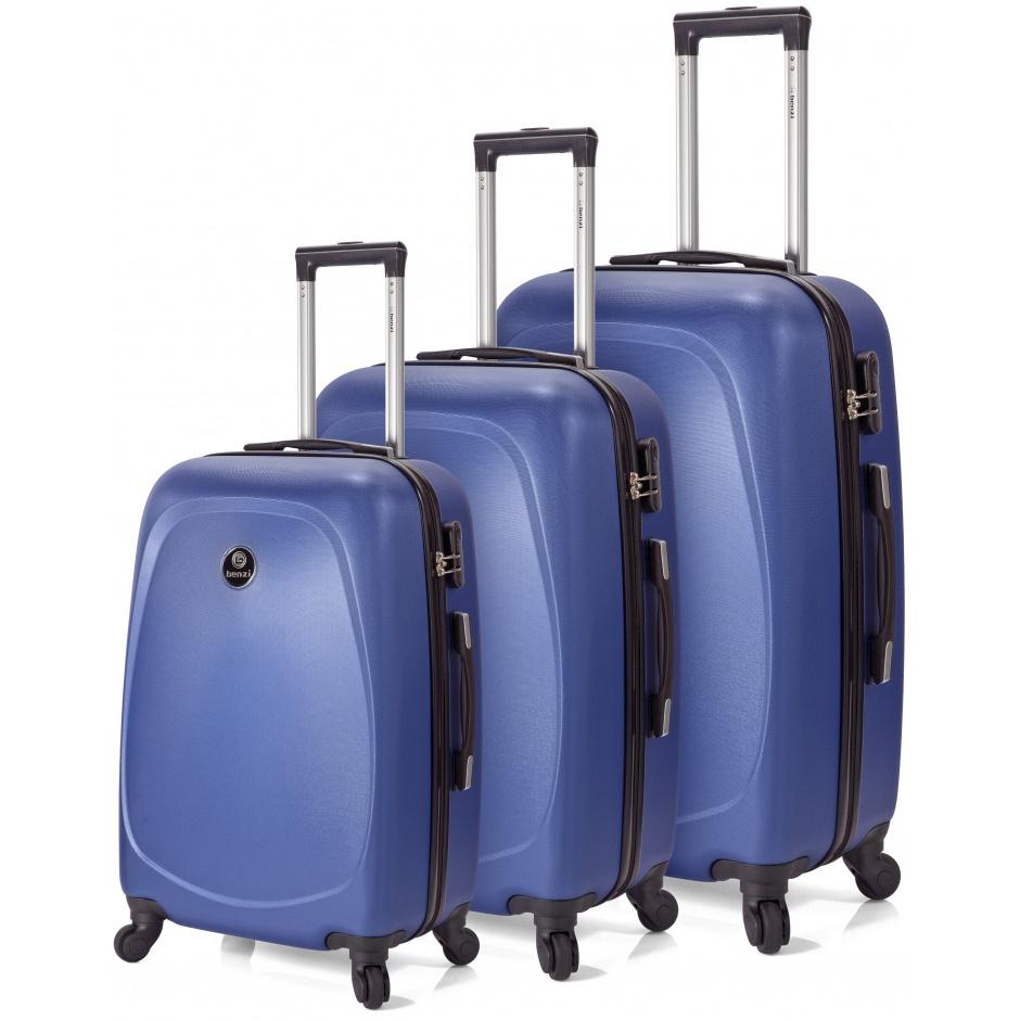 01457a1a2 ENVIO GRATIS - Oferta especial pack 3 maletas ABS con 4 ruedas