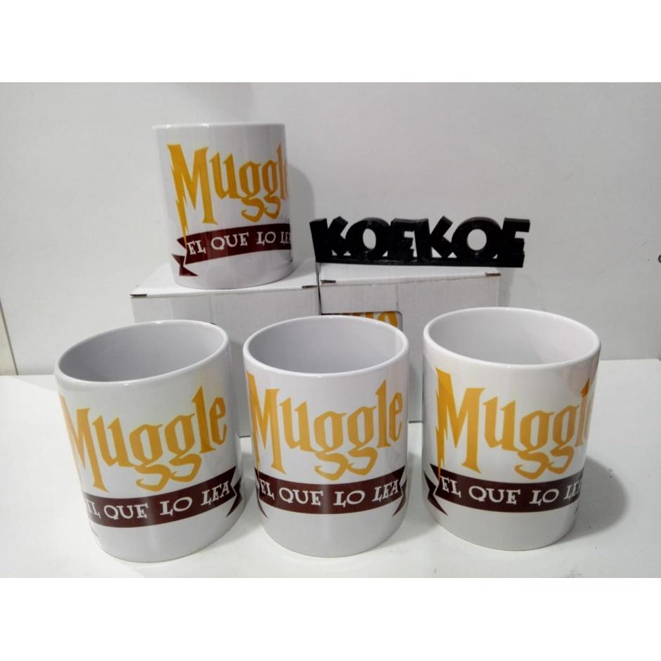 """Taza Harry Potter """"Muggle"""""""