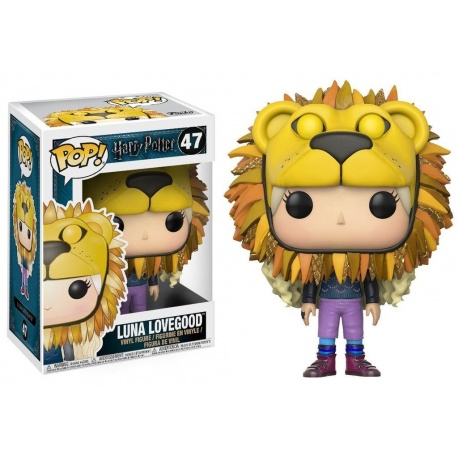 Figura POP Vinyl Luna Lovegood sombrero león