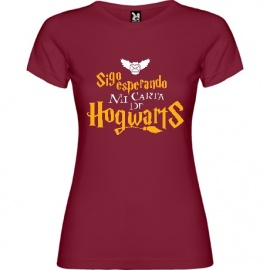 "Camiseta mujer manga corta Harry Potter ""Carta"""