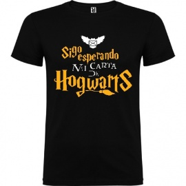 "Camiseta unisex manga corta Harry Potter ""Carta"""