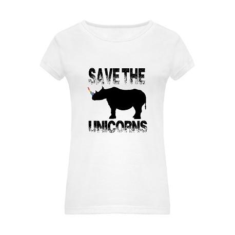 "Camiseta ""Save The Unicorns"""