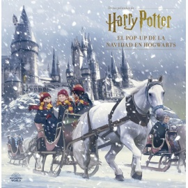 Calendario de adviento Harry Potter - Libro Navidad Pop-up