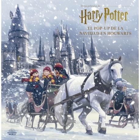 Calendario de adviento Harry Potter - Libro Navidad Pop-up