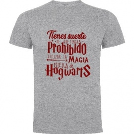 "Camiseta manga corta Harry Potter ""Magia"""