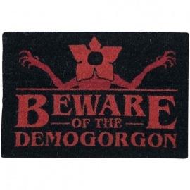 "Felpudo Stranger things ""Beware of Demogorgon"""