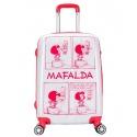 "Maleta Cabina 4R Mafalda ""Cómic"""