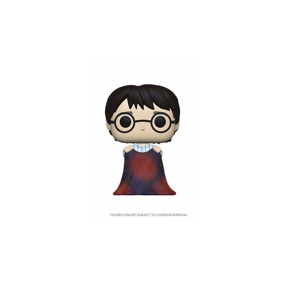 Figura Pop! Harry Potter con capa de invisibilidad