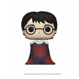 Figura Pop! Harry Potter con capa de invisibilidad