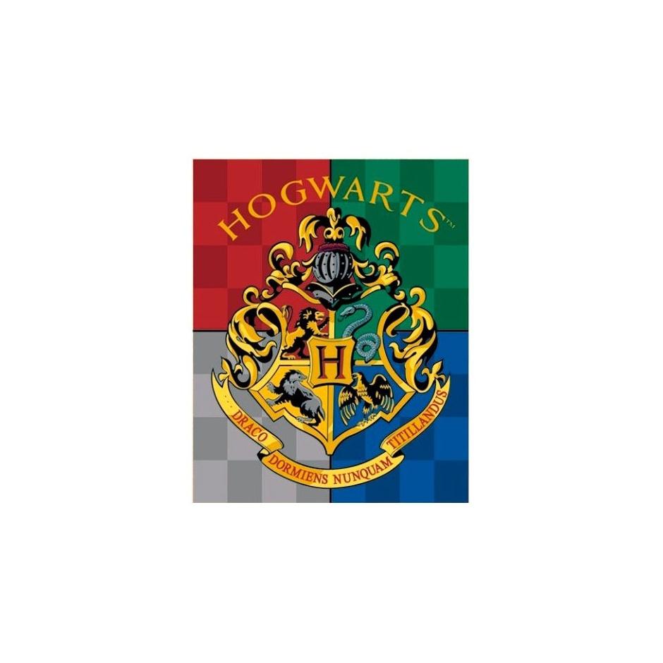 Manta escudo Hogwarts Harry Potter