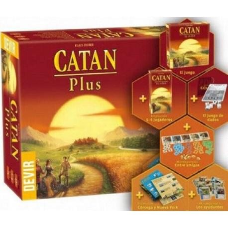 Catan Plus, juego de mesa - Español