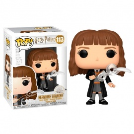 Figura Pop! Hermione con pluma Harry Potter