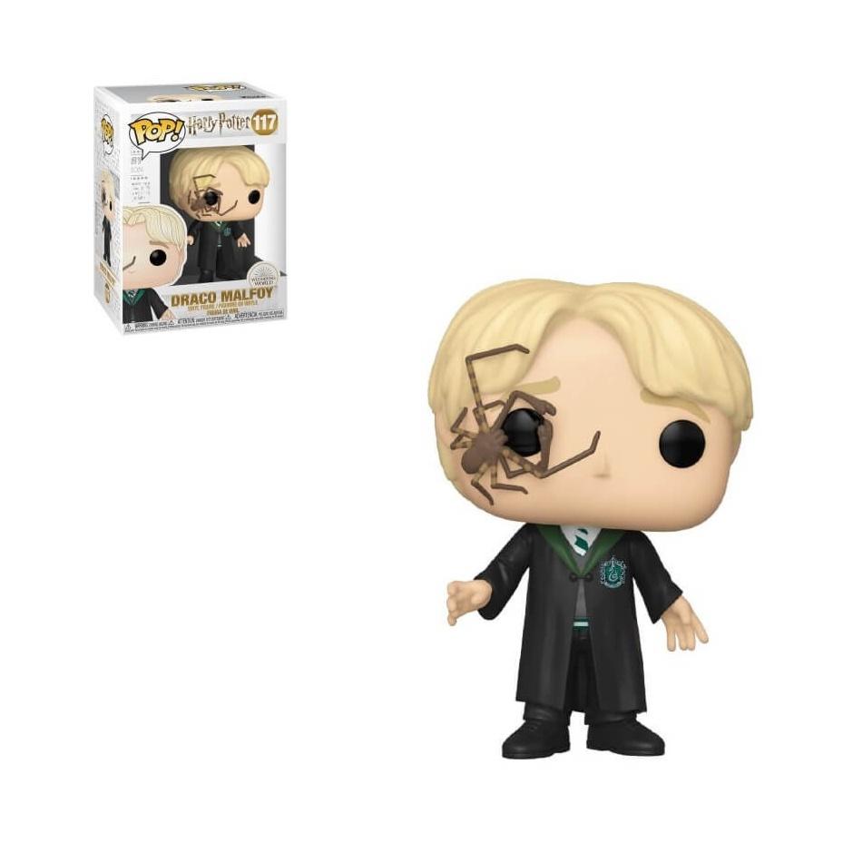 Figura Pop! Draco Malfoy con araña Harry Potter