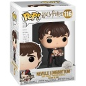 Figura Pop! Neville con Libro de los monstruos Harry Potter