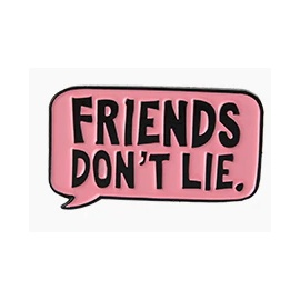 "Pin ""friends don't lie"" Stranger Things"