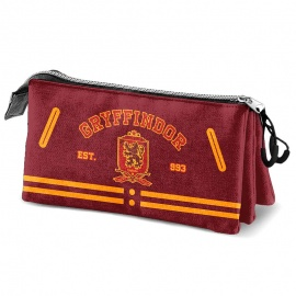 Portatodo triple Harry Potter Gryffindor