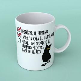 """Taza gato """"Tareas pendientes"""" Borinot El Gato"""
