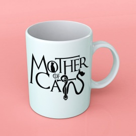 "Taza ""Mother of Cats"" Borinot El Gato"