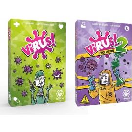 Pack juego Virus 1 + Virus 2