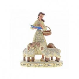 Figura Disney Bella con ovejas - Enesco